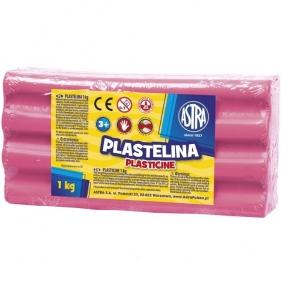Plastelina Astra, 1kg różowa jasna (303111007)