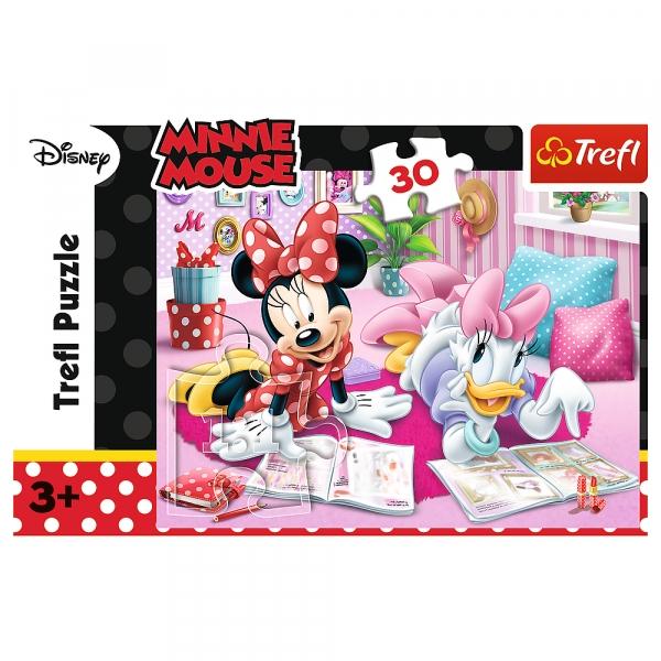 Puzzle 30: Myszka Minnie - Najlepsze przyjaciółki (18217)