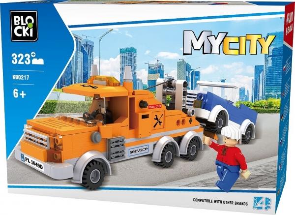 Klocki Blocki: MyCity - Laweta 323 el. (KB0217)