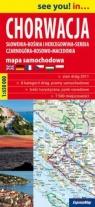 Chorwacja mapa samochodowa 1:650 000 Praca zbiorowa