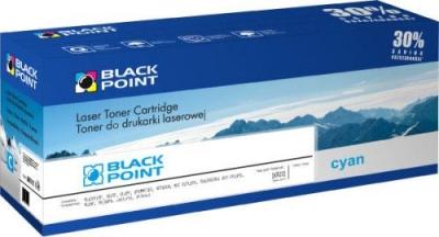 Toner regenerowany Black Point Eksploatacja Tonery - cyan (CC531A)