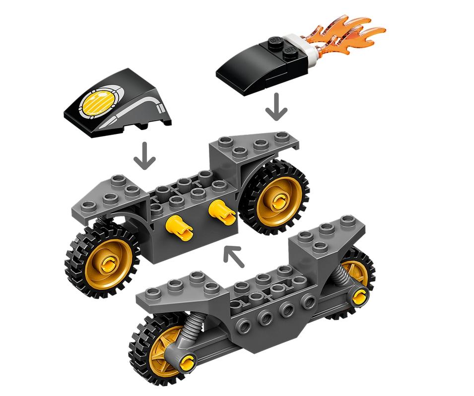 Lego Marvel Super Heroes: Kapitan Ameryka i pojedynek z Hydrą (76189)