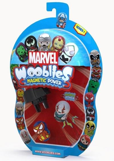 Wooblies Marvel - 2 figurki + wyrzutnia (WBM008)