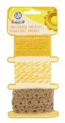 Sznurki dekoracyjne Słoneczne sploty (335121003)