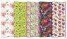 Papier ozdobny-pakowy PAW Neutral 1 ( 200 x 70 ) MIX Kwiaty AGP007301