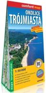 Okolice Trójmiasta laminowana mapa turystyczna 1:50 000