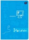 Zeszyt A5/60 kartkowy w kratkę - Informatyka