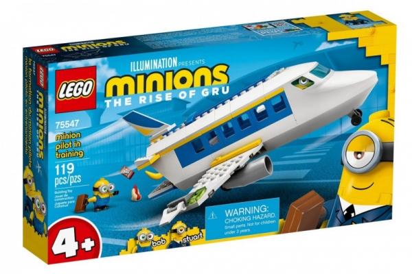 Klocki Minions 75547 Nauka pilotażu Minionka (75547)
