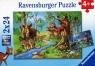 Puzzle Mieszkańcy lasu 2x24 (RAP091171)