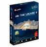 Puzzle 3D: LED - Pałac Luwr (306-20517)