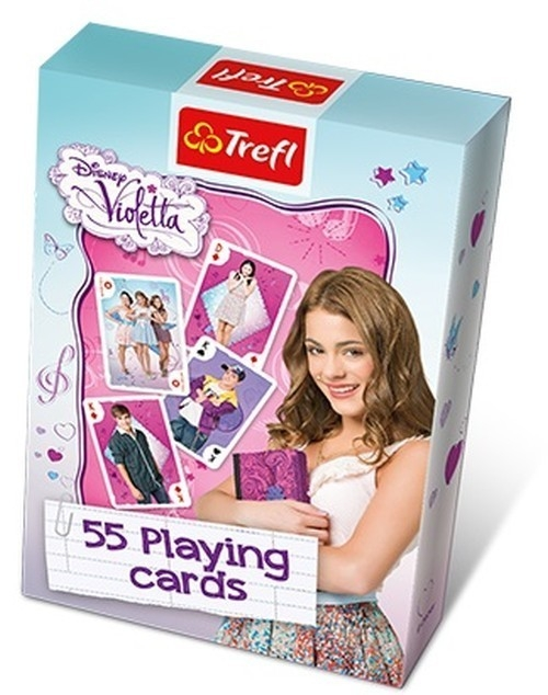 Karty Violetta - talia tematyczna (08617)