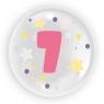 "Balon 45 cm - ""Cyfra 7"" różowy (TB 3617)"