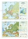 Mapa Europy A2 Dwustronna laminowana (10szt)