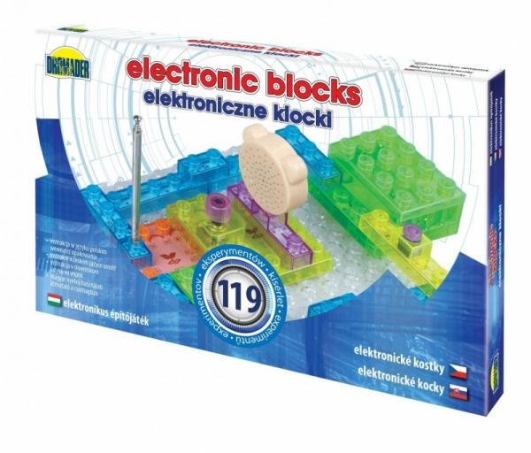 Elektroniczne klocki 119 elementów