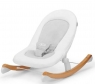 Leżaczek bujaczek Finio biały (KKBFINOWHT0000)od 3 miesięcy