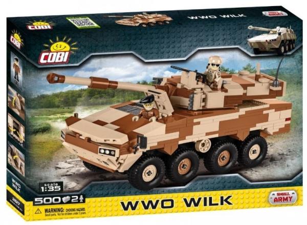 Klocki Mała Armia WWO Wilk 500 elementów (2617)
