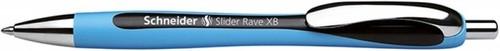 Długopis automatyczny Schneider Slider Rave XB czarny (132501)