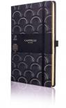 Notatnik 13x21cm linia Castelli Art Deco Gold