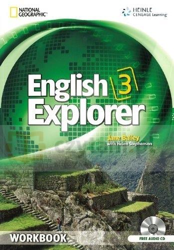 English Explorer International 3 WB +CD Jane Bailey