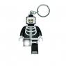 Brelok do kluczy z latarką LEGO® Kościotrup (LGL-KE137)