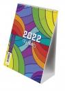 Kalendarz biurkowy ze spiralką 2022, B6 (T-103-02) Mix