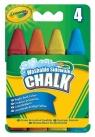 Kreda Crayola tęczowa 4 kolory