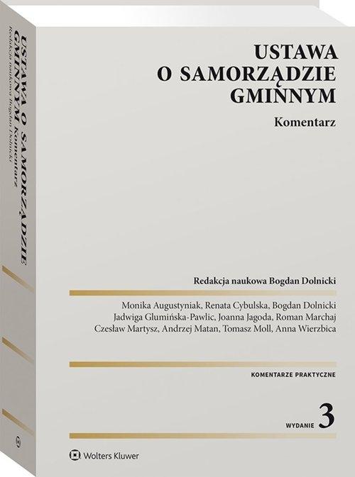 Ustawa o samorządzie gminnym Kom. w.3/21 Dolnicki Bogdan