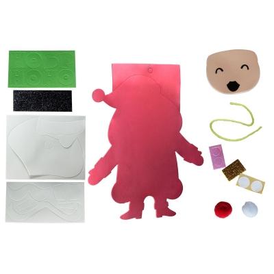 Ozdoba świąteczna Titanum Craft-Fun Series Mikołaj do samodzielnego wykonania (20618)