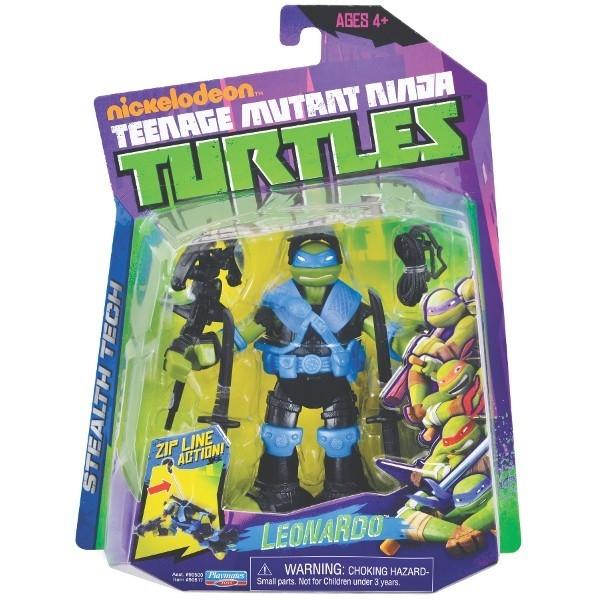 TURTLES Żółwie Ninja Fig. Tech Leo
