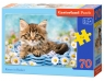 Puzzle Kittens in a Basket 70 (007172)