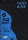 Kołozeszyt A4 Wave w kratkę 120 kartek niebieski