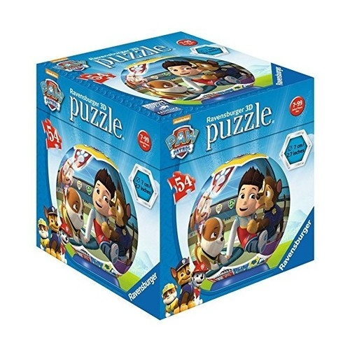Puzzle 3D Psi patrol  kula 54 (119172)