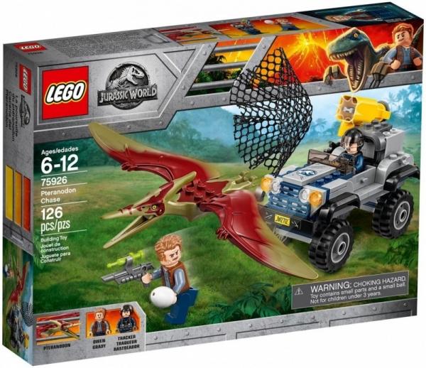 LEGO Jurassic World: Pościg za pteranodonem (75926)