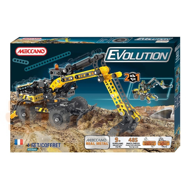 MECCANO Evolution Koparka (6023640)