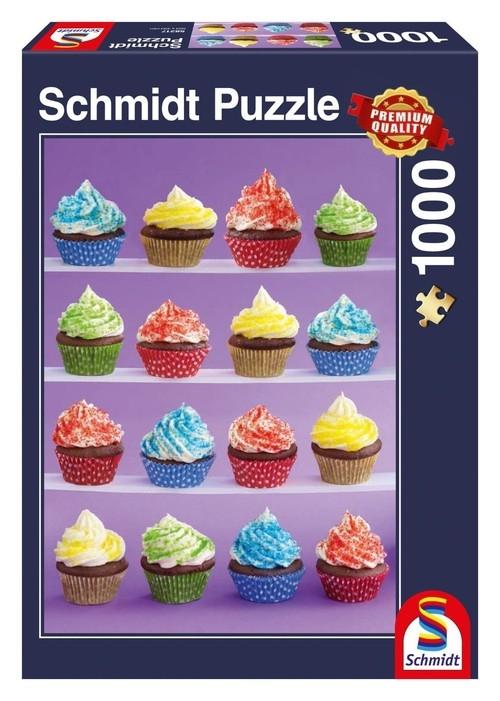 Puzzle Pyszne babeczki 1000