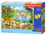 Puzzle Animals in the Jungle 120 elementów