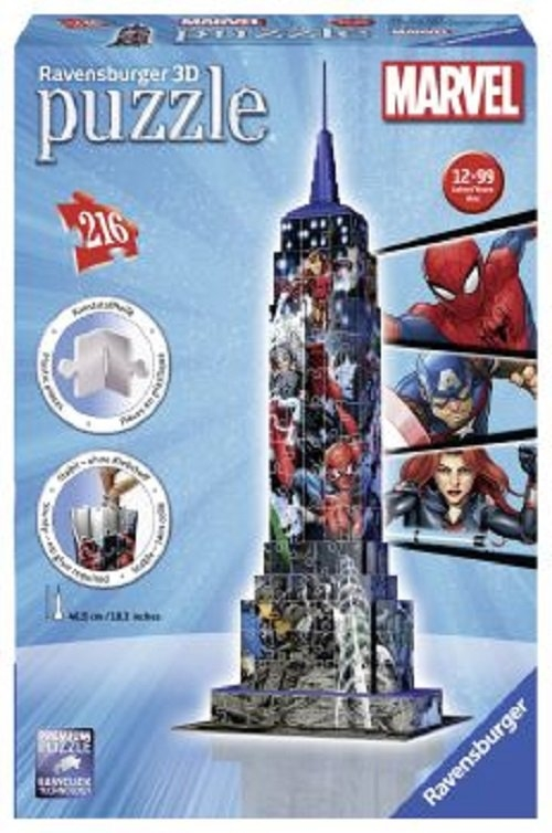 Puzzle 3D Empire State Marvel 216