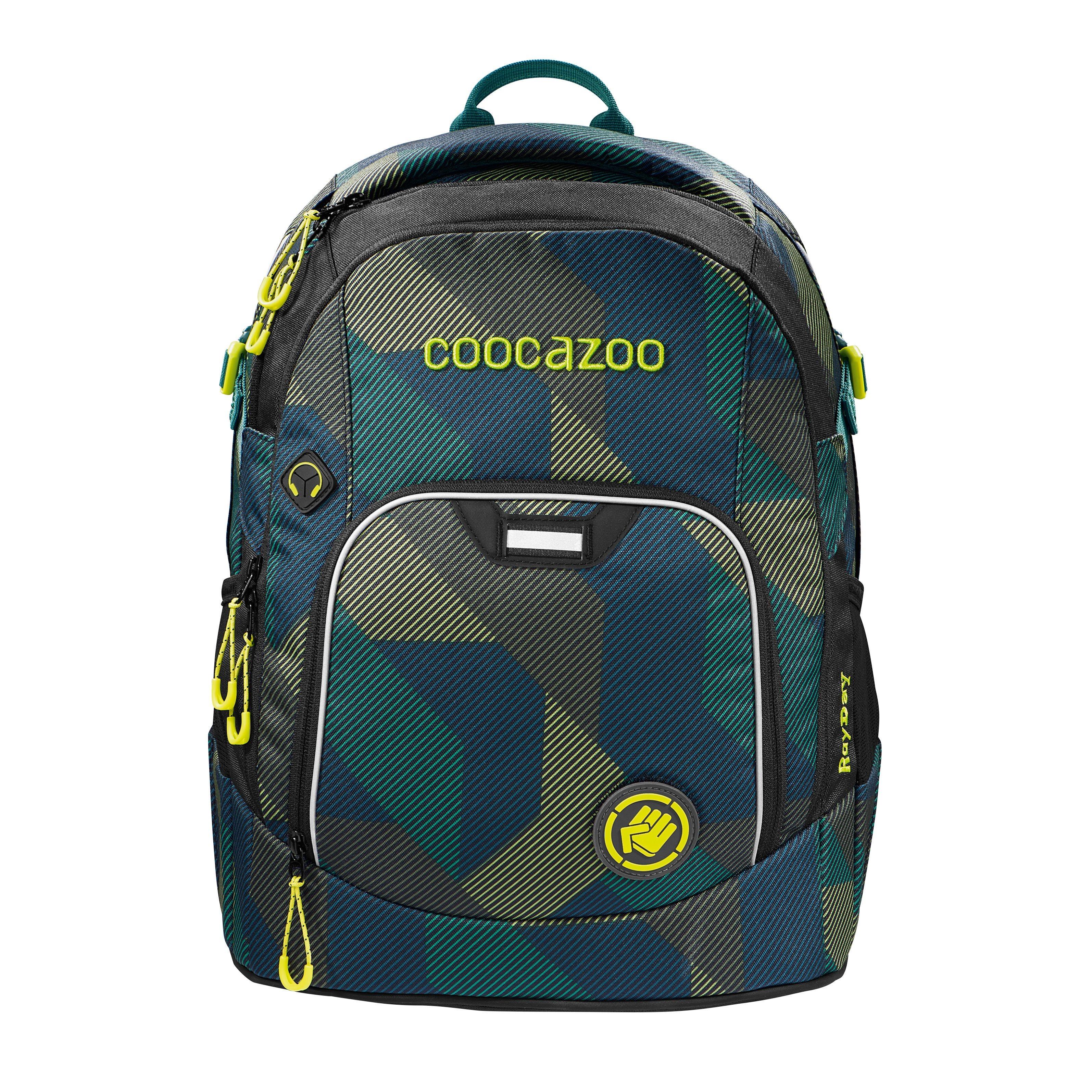 Coocazoo, plecak RayDay, kolor: Polygon Bricks, system MatchPatch (99183777)