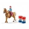 Kowbojka w wyścigu przez beczki - 41417