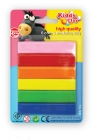 Plastelina Kiddy Clay 6 kolorów