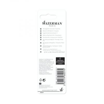 Wkład do długopisu Waterman, czarny 0,7 mm