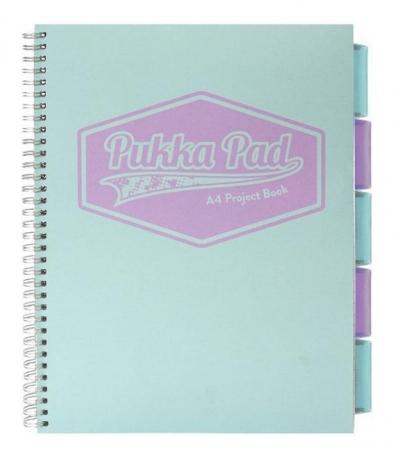 Project Book Pastel A4/100K kratka morski (3szt)