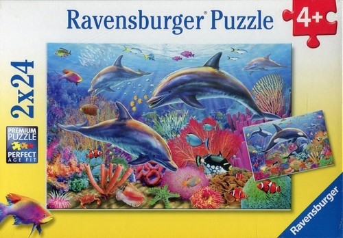 Puzzle Podwodne piękno 2x24 (090174)