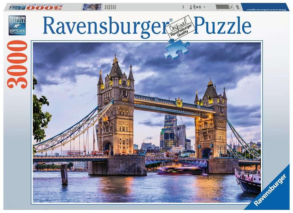 Puzzle 3000: Londyn, wspaniałe miasto (16017)