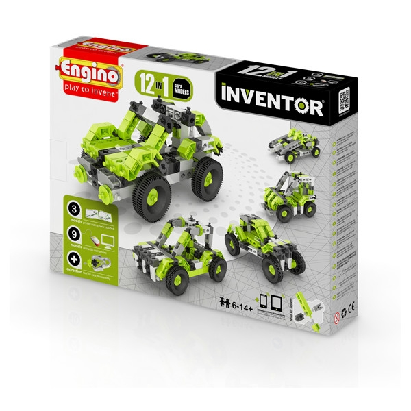 ENGINO Inventor 12 models cars (1231)
