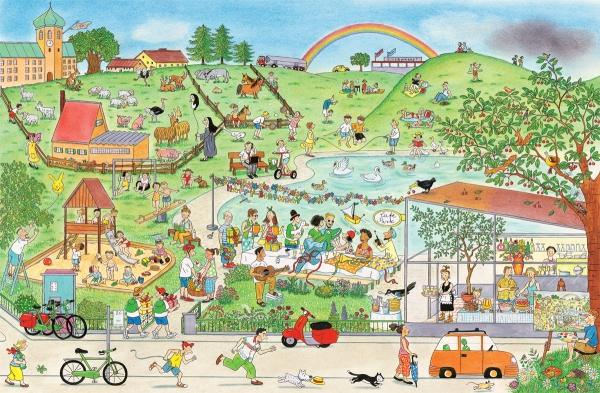 Lato Na Ulicy Czereśniowej Berner Rotraut Susanne