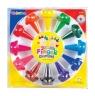 Kredki świecowe Colorino Zwierzątka na palec 12 kolorów