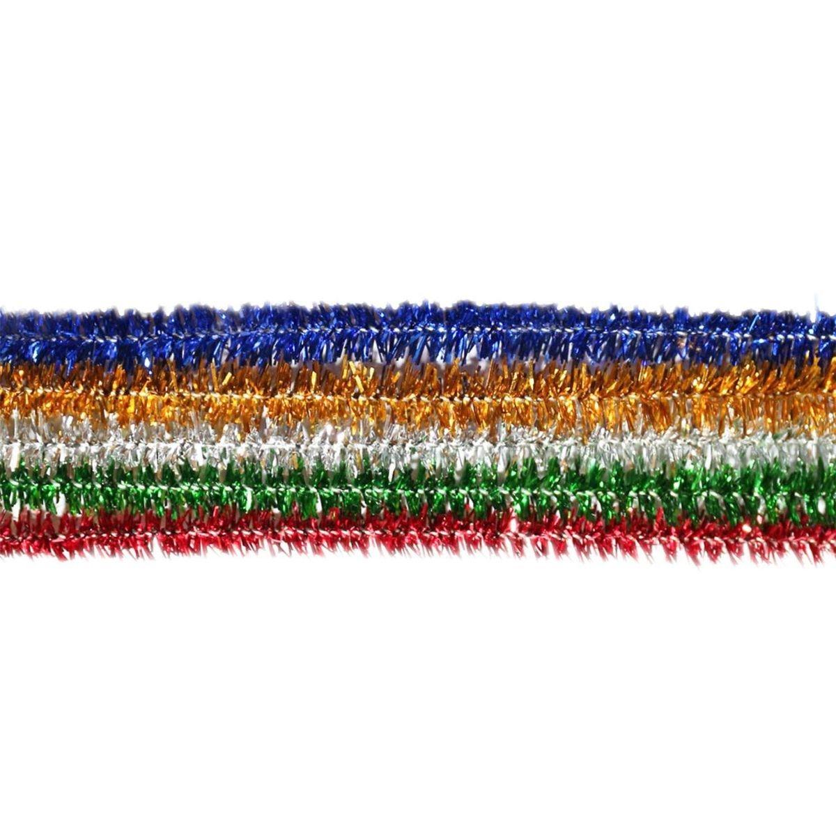 Druciki kreatywne, 25 szt. - metalizowane, mix kolorów (282815)