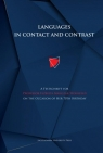 Languages in contact and contrast A Festschrift for Professor Elżbieta