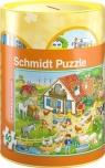 Skarbonka Na farmie + puzzle 60 elementów
